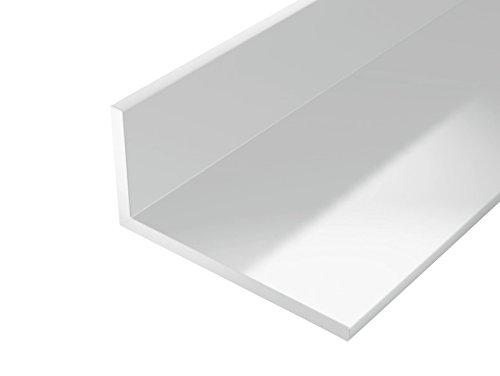 Gah alberts Winkelprofil Kunststoff weiß   Breite (mm): 30   Länge (mm): 2000