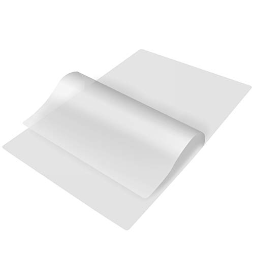 TYH Supplies 400Pack 85 x 11 Inch Letter Size 3 Mil Clear Hot Glossy Thermal Laminating Pouches Lamination Sheet Laminator Pockets