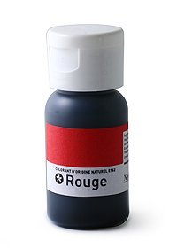 Colorant Naturel alimentaire rouge