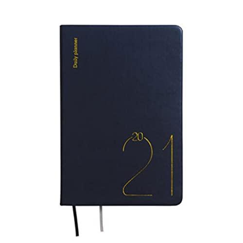 LICHUAN Cuaderno para Trabajos Funda Dura 5.8 x 8.2 Pulgadas para la Escuela para niños Escribir Pads Libros 201 Hojas (Color : Black)