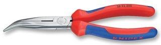 Knipex 26 22 200 Flachrundzange mit Schneide – Storchschnabelzange