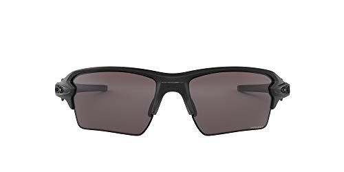 Oakley Herren Flak 2.0 Xl 918873 59 Sonnenbrille, Schwarz (Matte Black/Prizmblack)