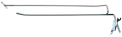 BGS 89917 enkele haak met draagarm en dwarspin 300 x 4,8 mm