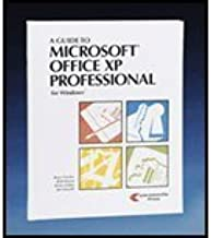A Guide to Microsoft Office Xp Professional for Windows by Pressley (2002-05-04)