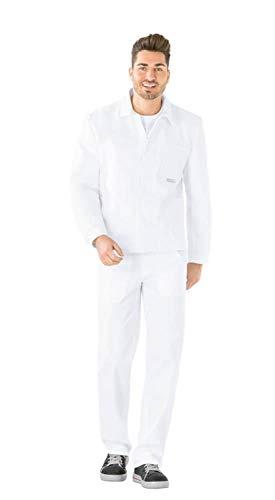 Planam BW 290 Herren Arbeitsjacke reinweiß Modell 0105 Größe 98