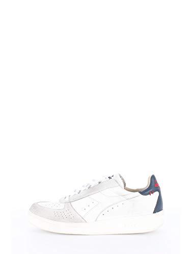 Sneakers Uomo SS 2019 B.Elite, Basse, in Pelle, traforate in Punta, Patch posteriore a contrasto di Colore, plantare in Pelle estraibile, suola in Gomma