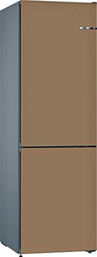 Bosch KVN39ICEA Serie 4 VarioStyle – Combinación de nevera independiente/A++ / 203 cm / 273 kWh/año/puerta frontal intercambiable / 279 L refrigerante / 87 L congelador/NoFrost/VitaFresh