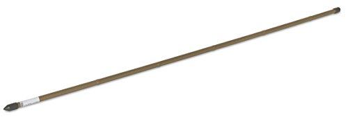 Windhager Stalen plantenstok bamboe, plantensteun, rankstok, plantenhulp, rankhulp, plantenstokken, tomatenstokken, 11 x 1200 mm, 05745