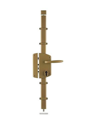 Thirard - BOITIER de serrure 3 points en applique MELISSA or à fouillot 85 x 174 mm gauche (bronze, gauche)