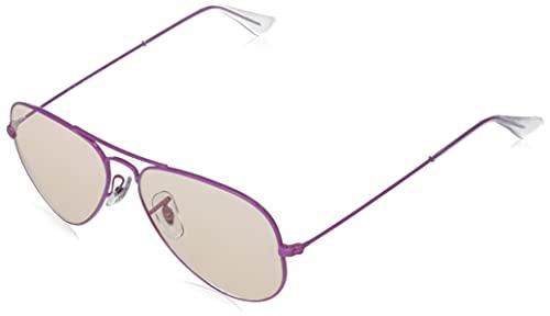 Ray-Ban Rb3025 Aviator Classic Evolve Photochromic Gafas, Violet, Standard para Hombre
