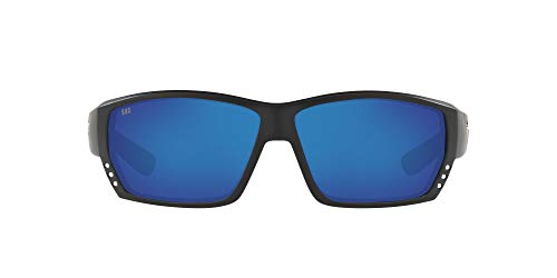 Costa Del Mar mens Tuna Alley 580g Rectangular Sunglasses