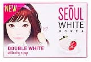 Seoul White Korea Double White Skin Whitening Soap Gentle Lightening Moisturizing Made in Korea (3 pack (3x90g))