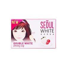 Seoul White Korea Double White Skin Whitening Soap Gentle Lightening Moisturizing (3 pack (3x90g))