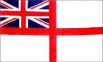 UK White Ensign Flag 3x5 New 3 x 5 British Royal Navy