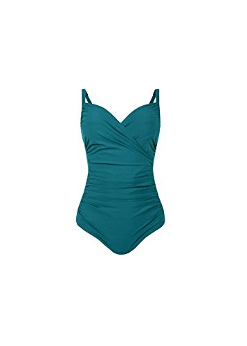 Anita Womens Tilda Comfort Underwire Swimsuit, 10D, Smeraldo