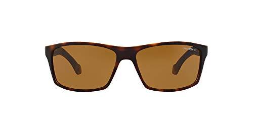 ARNETTE Boiler gafas de sol, Fuzzy Havana, 61 para Hombre