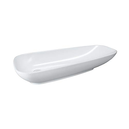 Laufen Palomba Waschtisch-Schale, ohne Hahnloch, ohne Überlauf, 900x420, Farbe: Weiß mit LCC
