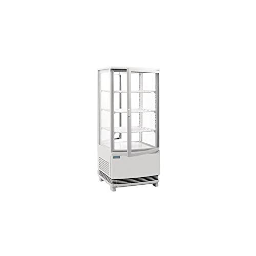 Polar C-Series - Exhibidor para puerta curvada (86 litros), color