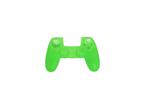 SYGA Imported Silicone Protective Skin Case Cover for Sony Playstation 4 PS4 Controller - Green