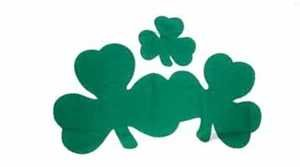 Shamrock Kleeblatt Irland Fahne Flagge Grösse 60x90cm - FRIP –Versand®