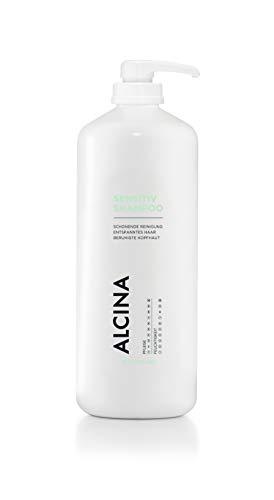 ALCINA Sensitiv-Shampoo - Schonende Reinigung für entspanntes Haar & beruhigte Kopfhaut - 1 x 1250 ml