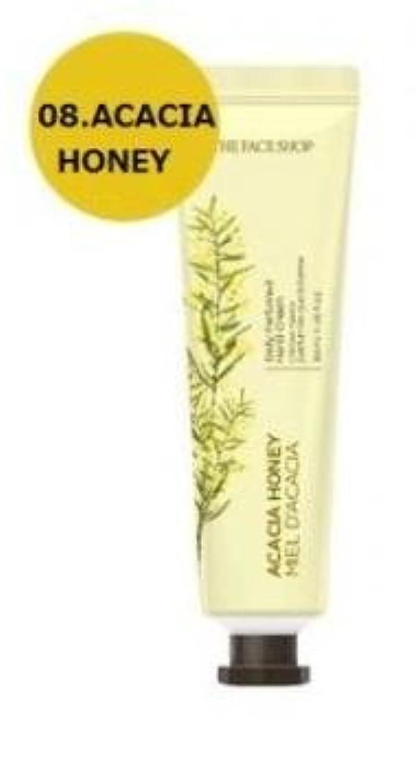 人種ハーブモートTHE FACE SHOP Daily Perfume Hand Cream [08. Acacia honey] ザフェイスショップ デイリーパフュームハンドクリーム [08.アカシアハチミツ] [new] [並行輸入品]