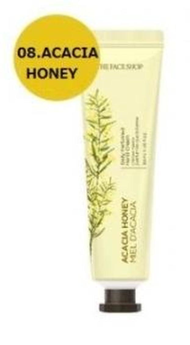 時計枕味付けTHE FACE SHOP Daily Perfume Hand Cream [08. Acacia honey] ザフェイスショップ デイリーパフュームハンドクリーム [08.アカシアハチミツ] [new] [並行輸入品]