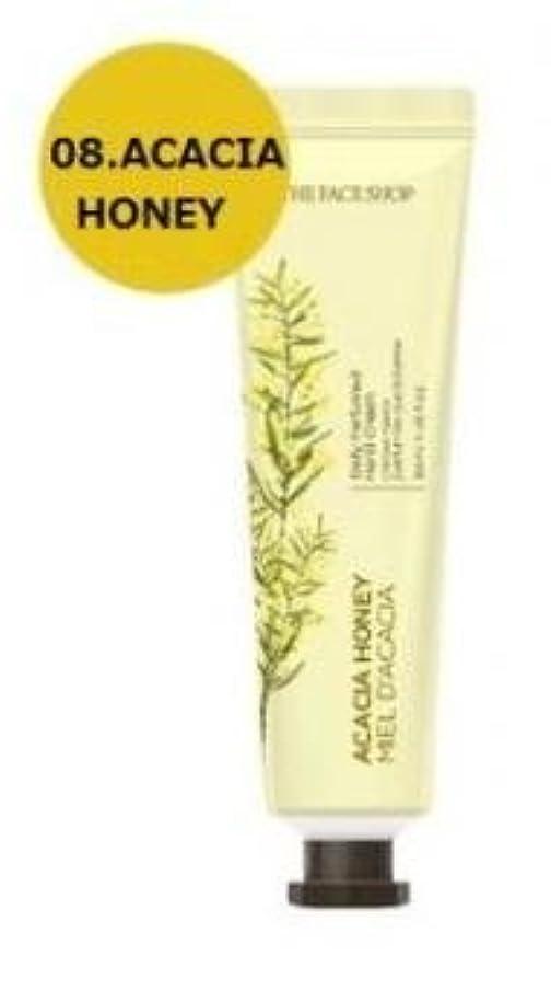 液体れるお願いしますTHE FACE SHOP Daily Perfume Hand Cream [08. Acacia honey] ザフェイスショップ デイリーパフュームハンドクリーム [08.アカシアハチミツ] [new] [並行輸入品]