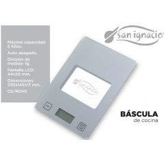 BÁSCULA DE COCINA SAN IGNACIO