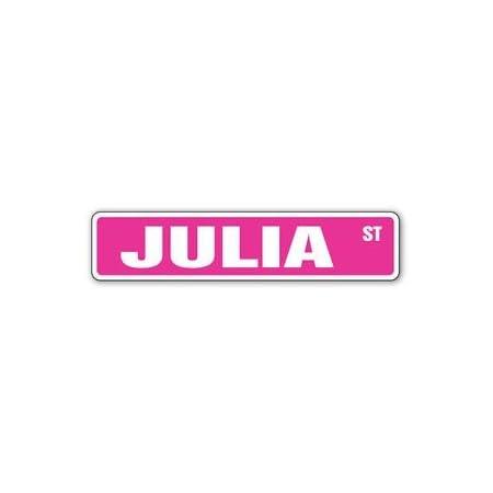 Julia/'s Room Decal Crossing Xing kids bedroom door children/'s name boy girl