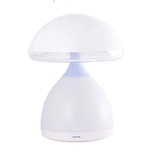SLEVE Table de Chevet Lampe LampShot Lumineuse Lampe de Table Sommeil Veilleuse Plug in Baby Alimentation Pat Champignons Lumière
