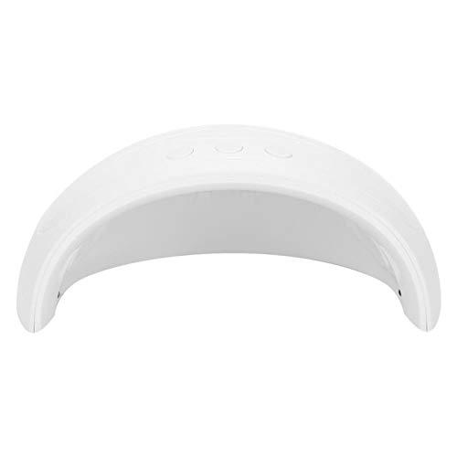 Bediffer Secador de uñas de secado rápido secador de uñas UV/LED luz manicura herramienta profesional para amantes del arte de uñas para uso doméstico