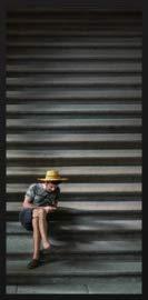 Dibond schilderij - fotokunst op aluminium - 70x118 - City life 001