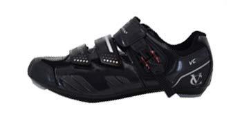 VeloChampion Elite Rennradschuh (Paar) Black/Silver 41 Road Cycling Shoes - 4