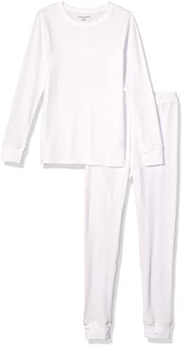 Amazon Essentials Women s Thermal Long Underwear Set White X Small product image