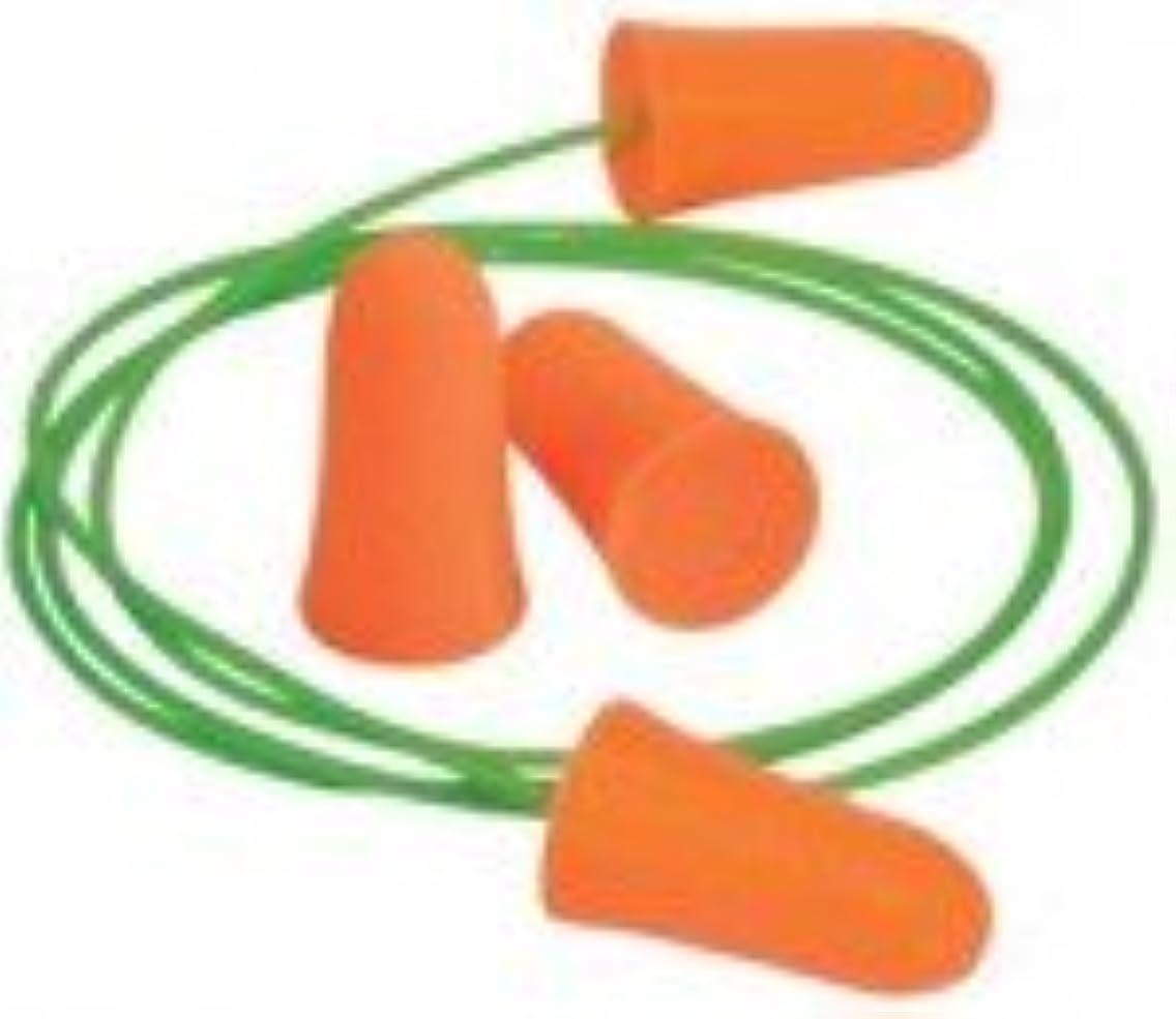 Mellows Foam Ear Plugs, Polyurethane, Bright Orange, Uncorded (1000 Pair)