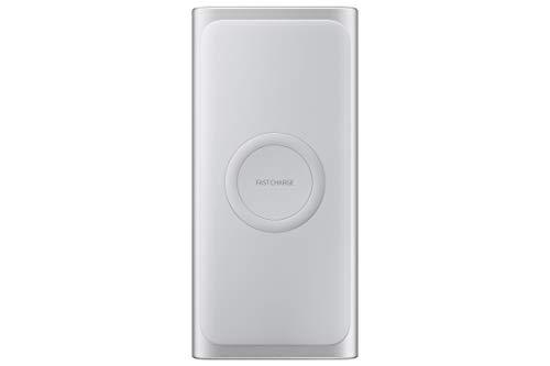 Samsung Mobile Accessories Wireless Charger Duo Pad, Schwarz & Induktive Powerbank, Silber