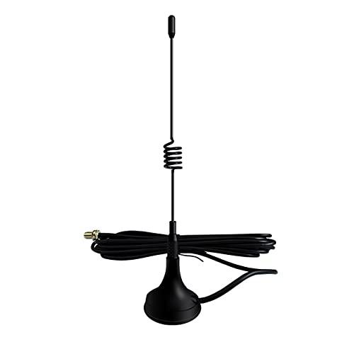 YoBuyBuy Antenne für tragbares Radio Mini Auto VHF Antenne für Quansheng für Baofeng 888S UV5R Walkie Talkie Uhf Antenne
