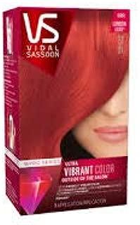 Vidal Sassoon - Pro Series Permanent Hair Color Runway Red (Pack of 6)