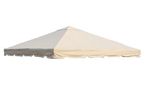 OUTFLEXX Ersatzdach für Pavillons, beige, Polyester, 300x300cm