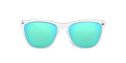 Oakley, Gafas de sol, Rectangulares, 54, Transparente