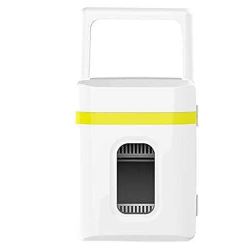 Mini Nevera Pequeña 10L, Nevera Portatil Electrica AC/DC Mini Frigorífico12V / 220V para Coche y Casa, con Función de Frío y Calor, para Coche, Hogar, Camión, Autocaravana, Camping, p015ks