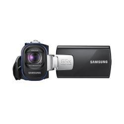 Samsung SMX-F40LP Handkamerarekorder 0.8MP CCD Blau - Camcorder (0,8 MP, CCD, 25,4/6 mm (1/6 Zoll), 52x, 2200x, Digital)