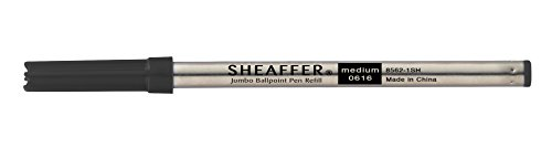 Sheaffer Jumbo Ferrari E Intensity - Recambio de tinta de grosor medio para bolígrafo, color negro