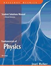 Fundamentals of Physics - Student Solutions Manual 8TH EDITION