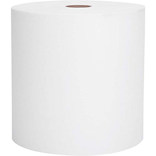 Scott Essential High Capacity Hard Roll Paper Towels (01005), White, 1000'/Roll, 6 Paper Towel Rolls/Convenience Case