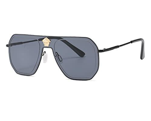ODNJEMSD Gafas De Sol Retro para Hombre Gafas De Sol De Moda Al Aire Libre Europeas Y Americanas para Hombres Y Mujeres