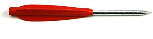 """InnoMar Armbrustbolzen 5,5"""" für Pistolenarmbrust - 20er Pack in rot - 14,5cm - Armbrust-Pfeile"""