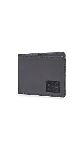 Herschel Supply Co. Men's Roy Wallet, Black Reflective, One Size