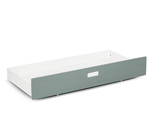 MoKee - Mini cajón para cuna, color verde azulado